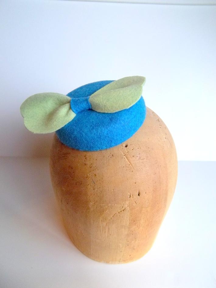 Mini Button Cocktail Hat