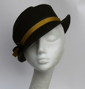 Olive Green Women Hat