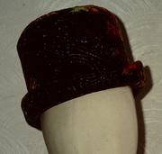 Multi Coloured Velvet Bowler from 1996