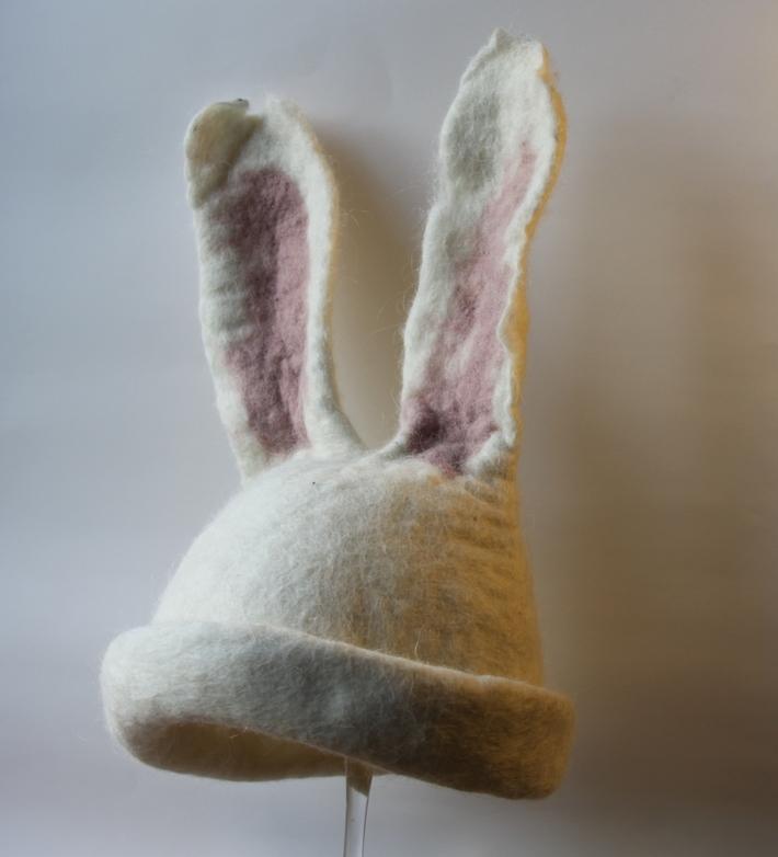 Easter bunny Costume Felt Hat