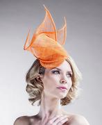 neon_pink_fascinator_hat_headpiece_women_straw_for_her_ella_gajewska