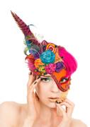 Fantasy Garden - Mask hat