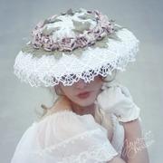 Victorian Rose Tea Hat