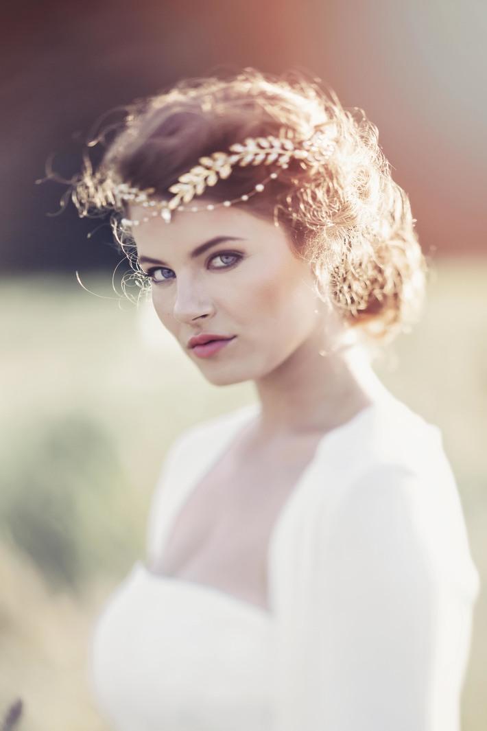Aida Greco-Roman inspired crown