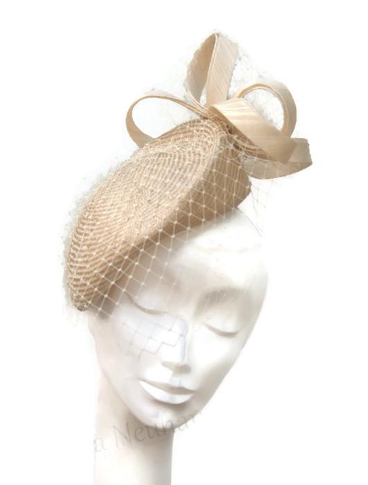Pari beret and silk abaca