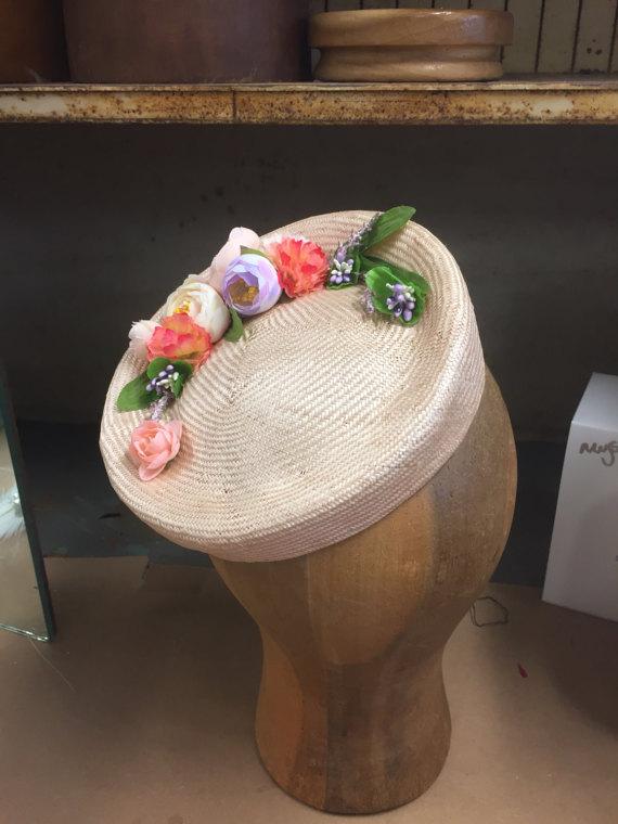 Straw Tilt Hat