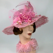 Straw & Lace Kentucky Derby Hat