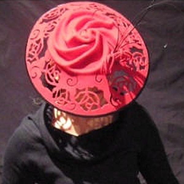 reduced rose platter