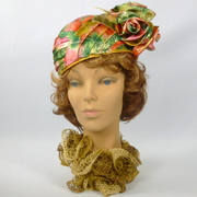 Multicolored Patterned Turban Style Hat