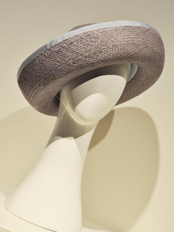 Breton Hat in grey lilac