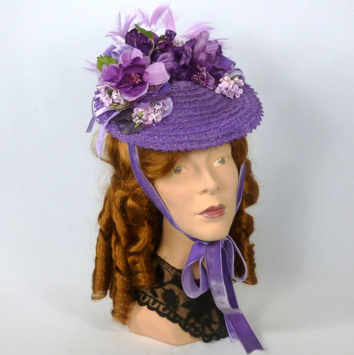 Reproduction Victorian Walking Hat
