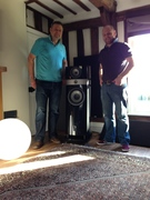 James and Henry complete installation of Scalas