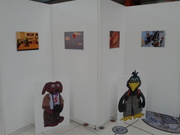 Zey The Mouse Exhibition Gallery Standee's