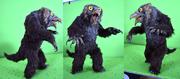 D & D owlbear puppet