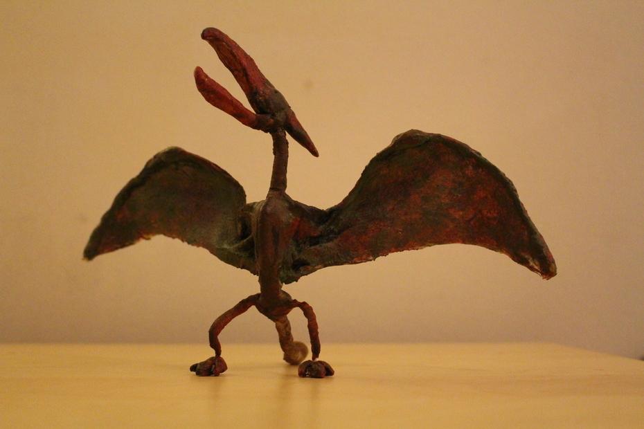 Pteranodon puppet