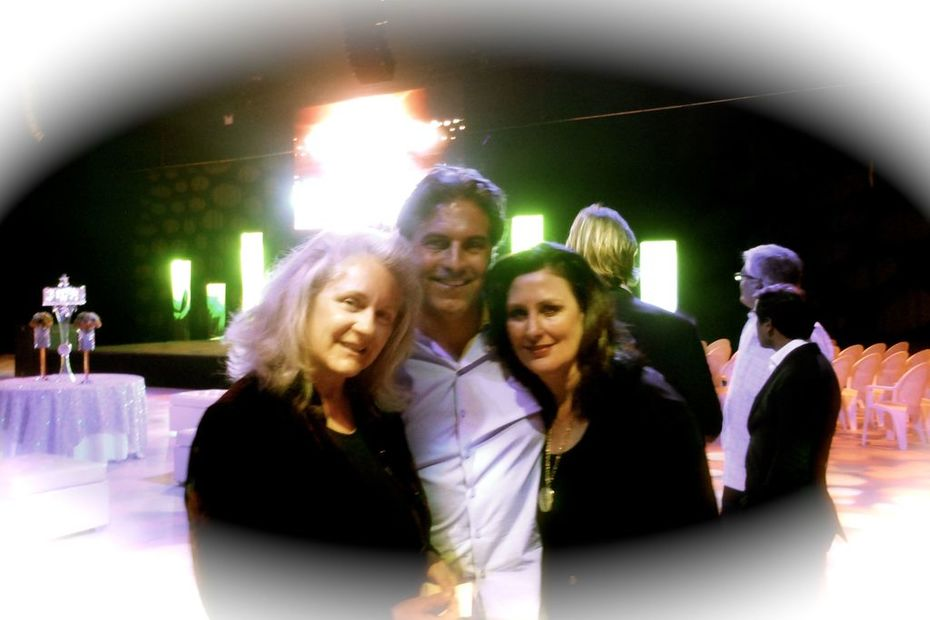Launch party of Vixedia with Host and owner of Vixedia Studios, Michael Wyduka and Course In Miracles Fascilitator, Linda Carter