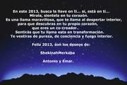 Que tengas un muy feliz 2013. ShekinahMerkaba