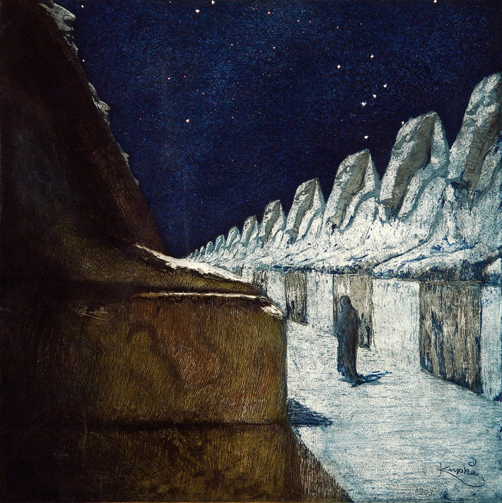 Frantisek Kupka The Path of Silence