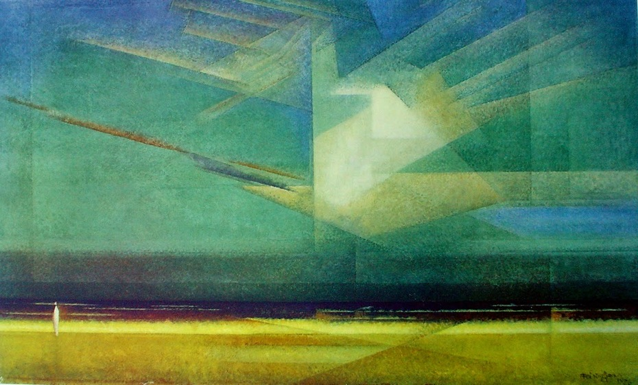 Lyonel Feininger - Bird Cloud