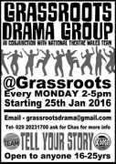 Grassroots Drama Group Sessionss