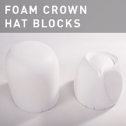 D43 - Foam Crown Hat Blocks