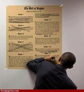 No more bill of rights