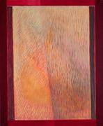 Golden light. Acryl on paper on canvas. 73X60. 2008.