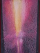 Lightning. Acryl on canvas. 65X50. 2007.