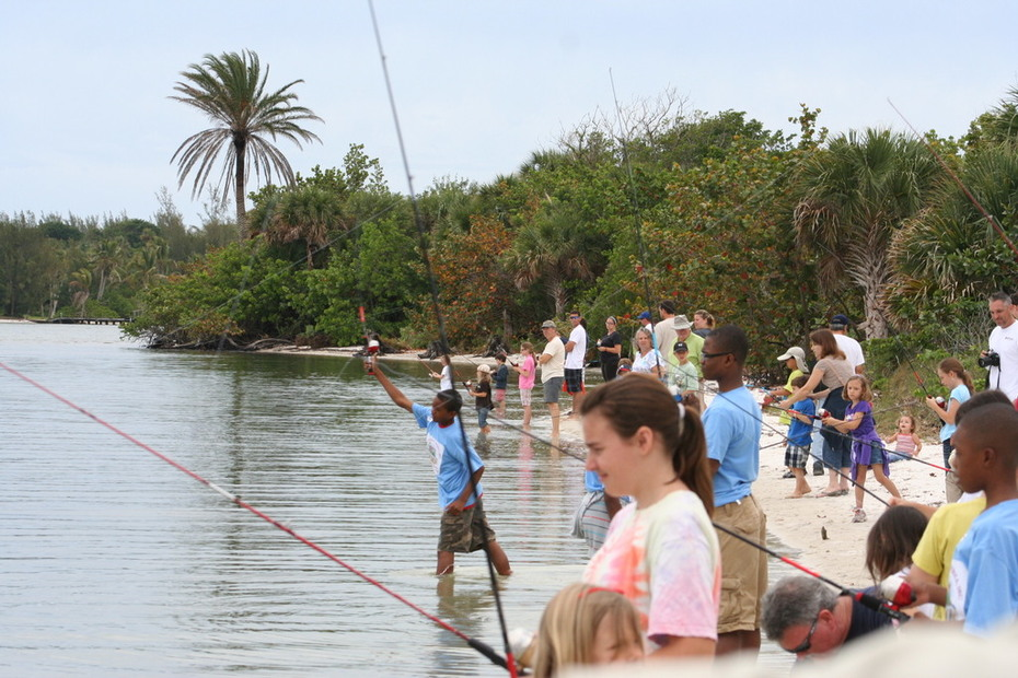 Hobe Sound National Wildlife Refuge Youth Fishing Event