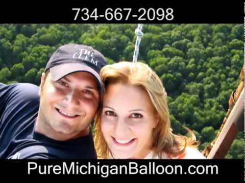 Hot Air Balloon Trip: Give the Gift of Michigan