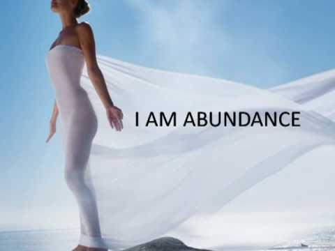 """Vision Board: """"I Am Abundance"""""""