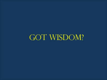 WISDOM Book promo