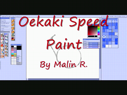 Oekaki Speed Paint