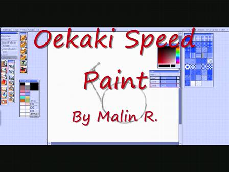 Oekaki Speed Paint