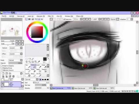 Skye, Nau Luxus Speedpaint Paint tool Sai