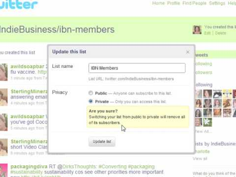 Top 10 Ways For Small Business Owners To Use Twitter Lists