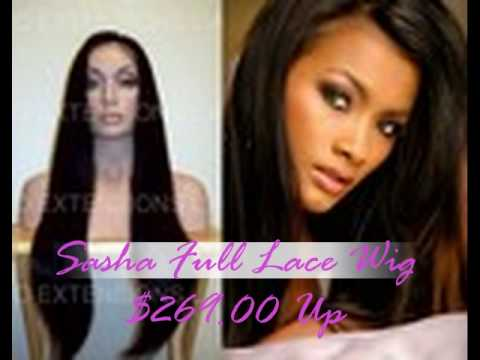 Full Lace Wigs With Baby Hair and Bleached Knots