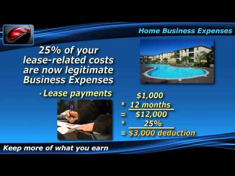 Personal Expenses Become Business Tax Deductions