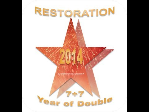 Happy Restoration New Year 2014 from AuthorDonnaMarie