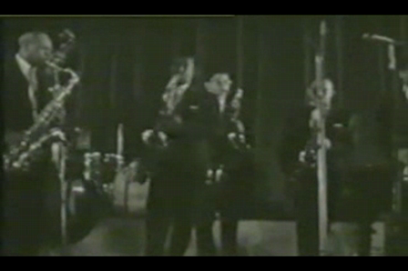Batte of the Saxes 1958 Cannes