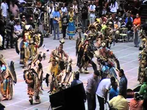 Cree Confederation - Contest Song - Gathering of Nations 2012