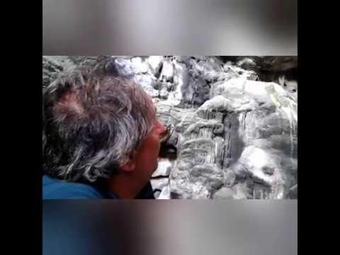 Επίσκεψη Σπηλαιολόγων στο Σπήλαιο Αντιπάρου // Speleologists Visit the Antiparos Cave