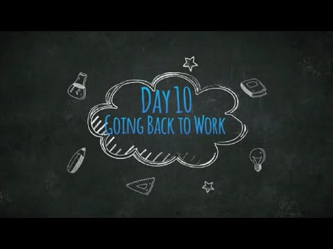 Day 10 - After 24 Extractions with Immediate Dentures - Back to Work