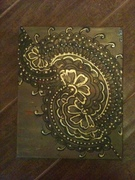 henna designs on canvas 002