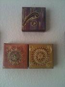 henna designs on canvas 001