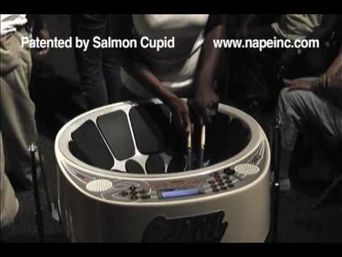 """Sonatas Steel Orchestra """"Battle Zone""""  Liynaa'a McLean plays THE E-PAN during Tenor Section Practice"""