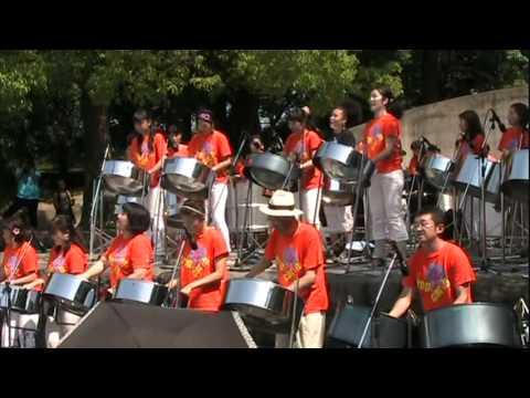 Oye Como Va  - Tropicarib @YOKOHAMA STEELPAN FESTA 2011