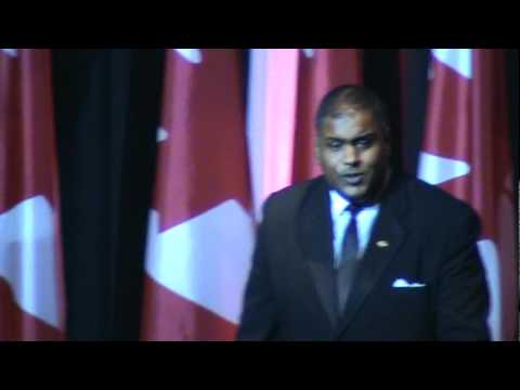 Marcuss Saroop - Tenore - Is Accompanied by Souls Of Steel Orchestra May 24th, 2012.
