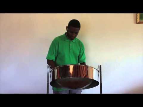 "Keishaun Julien covers Machel Montano's ""She Ready"" on Steel Pan"