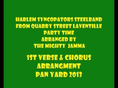 HARLEM SYNCOPATORS PAN YARD 2013
